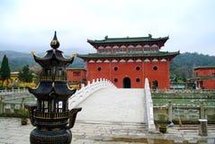 Tempel, China stock afbeeldingen