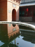 Tempel China-Pingyao Stockbild