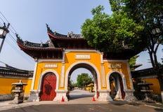 Tempel Chinas Hanshan Stockfoto