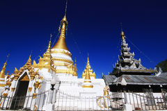 Tempel Chong Klang und Chong Kham (alter Tempel-public domain) Lizenzfreie Stockfotos