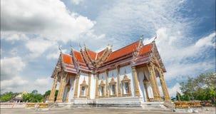 Tempel Chulamanee Phitsanulok seit der Vergangenheit stock video footage