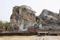 Tempel complex van Ayutthaya, Thailand Royalty-vrije Stock Fotografie