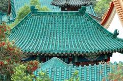 Tempel-Dächer Lizenzfreies Stockfoto