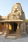 Tempel Dämpfungsreglers Bahu in Gwalior-Stadt, Rajasthan, Indien Stockfotos