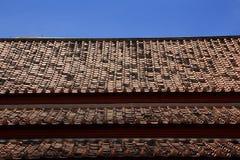 Tempel-Dach Stockfoto