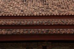 Tempel-Dach Stockfotografie
