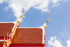 Tempel-Dach Stockbild