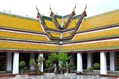 Tempel-Dach Stockfotos