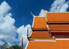 Tempel-Dach Lizenzfreie Stockbilder