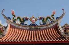 Tempel-Dach Lizenzfreies Stockbild