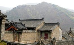 Tempel in de berg. Stock Afbeeldingen