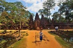 Tempel in de wildernis Stock Foto