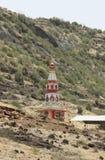 Tempel in den Bergen Lizenzfreies Stockfoto
