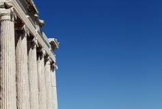 Tempel der Athene-Nike Lizenzfreie Stockfotografie