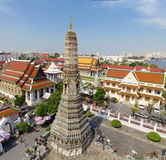 Tempel der Dämmerung (Wat Arun) Stockbilder
