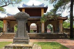 Tempel in der Farbe, Vietnam Lizenzfreie Stockfotografie