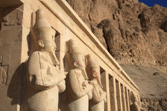 Tempel der Königin Hatshepsut Lizenzfreies Stockfoto