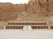 Tempel der Königin Hatshepsut Lizenzfreies Stockbild