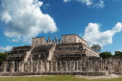 Tempel der Krieger Lizenzfreies Stockbild