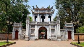 Tempel der Literatur lizenzfreies stockfoto