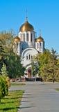 Tempel der Märtyrer-Str. George Lizenzfreie Stockfotos