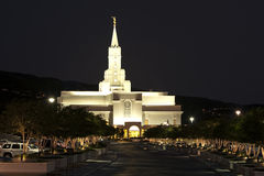 Tempel der neueren Tagesheiligen, freigebig, Utah Stockfotos