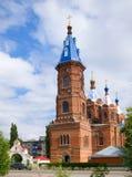 Tempel der Yeletsky-Ikone der Mutter des Gottes Yelets Stockbild