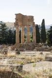 Tempel des Dioscuri - des Agrigents - des Siziliens, Stockbilder