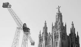 Tempel des heiligen Herzens von Jesus Lizenzfreie Stockbilder