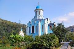 Tempel des Heiligen Varus in Sochi Stockbild