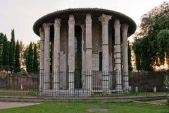 Tempel des Herkules-Siegers stockfotos