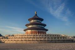 Tempel des Himmels morgens Stockbilder