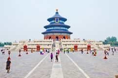 Tempel des Himmels Peking Stockfoto