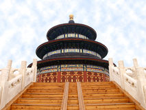 Tempel des Himmels in Peking Stockfoto