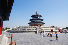 Tempel des Himmels in Peking Stockbilder