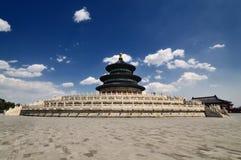 Tempel des Himmels in Peking Stockfotografie