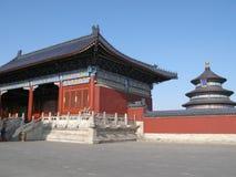 Tempel des Himmels in Peking Stockbild
