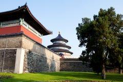 Tempel des Himmels in Peking, China. stockbilder