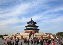 Tempel des Himmels in Peking, China Stockbild