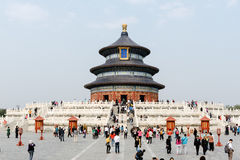Tempel des Himmels in Peking, China Lizenzfreies Stockfoto