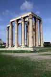 Tempel des olympischen Zeus Lizenzfreies Stockfoto