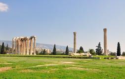 Tempel des olympischen Zeus Lizenzfreie Stockfotografie
