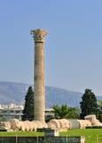 Tempel des olympischen Zeus Stockfotos