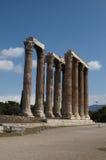 Tempel des olympischen Zeus Lizenzfreie Stockfotos