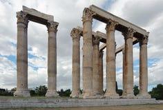 Tempel des olympischen Zeus, Athen, Griechenland Lizenzfreie Stockfotografie