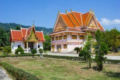 Tempel des schwarzen Mönchs in Thailand Lizenzfreie Stockbilder