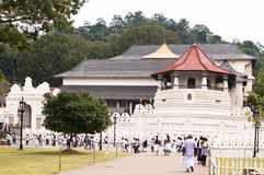 Tempel des Zahn-Relikts Lizenzfreie Stockfotos