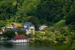 Tempel des Zahnes, Kandy, Lizenzfreies Stockbild