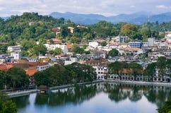 Tempel des Zahnes, Kandy, Sri Lanka Lizenzfreies Stockfoto