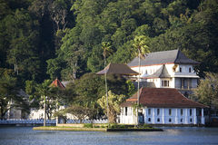 Tempel des Zahnes und des Royal Palaces, Sri Lanka Stockfotos